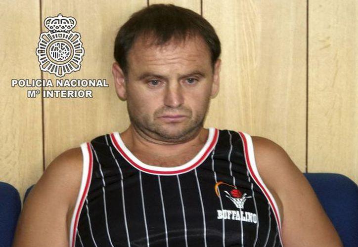 """El excombatiente serbobosnio Veselin Vlahovic, conocido como """"el monstruo de Grbavica"""". (EFE/Archivo)"""