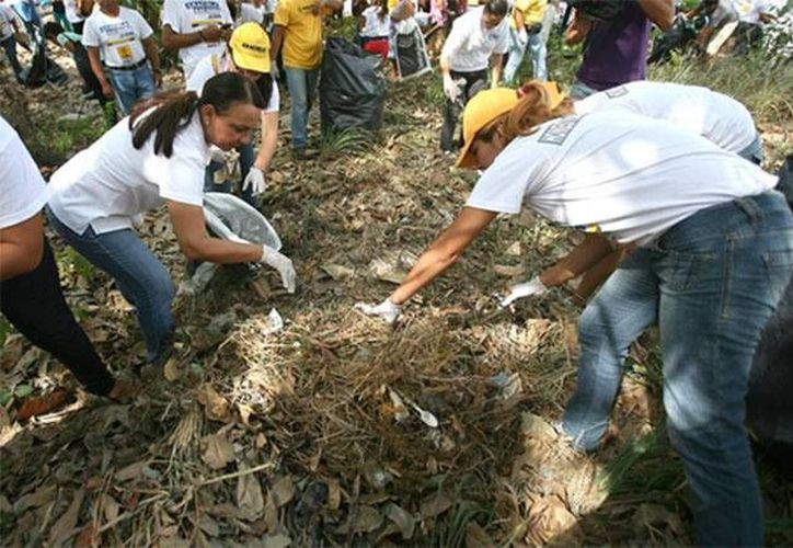 Saldaña Fraire dijo que implementará campañas de educación ambiental de asumir la presidencia de Benito Juárez. (Agencias)