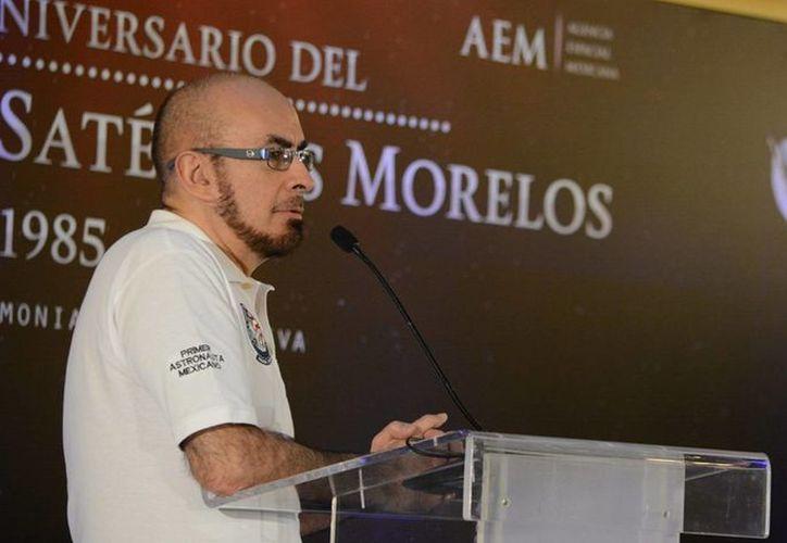 El primer astronauta mexicano, Rodolfo Neri Vela, ofreció una conferencia de prensa al iniciar la XXII Semana Nacional de Ciencia y Tecnología en las instalaciones del Museo de Ciencia y Tecnología de Chiapas. (Archivo/Notimex)