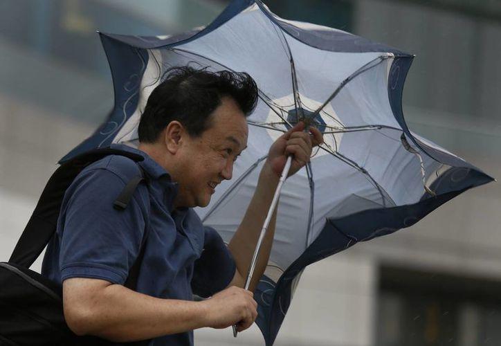 El meteoro tocó tierra al noroeste de Hong Kong. (Agencias)