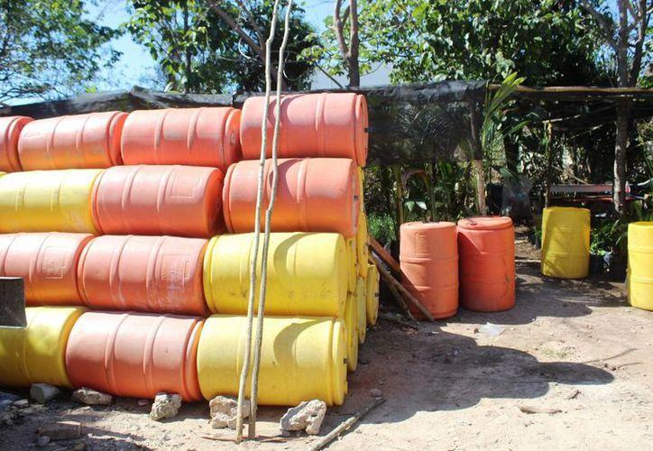 Planeaban instalar las boyas antes de Semana Santa, en Playa del Carmen. (Foto: Octavio Martínez/SIPSE)