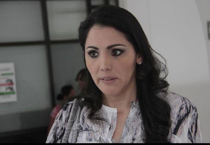 Santy Montemayor Castillo, directora general del Implan. (Tomás Álvarez/SIPSE)
