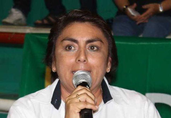 """""""Buscaremos en todos los eventos quedar bien ubicados"""", aseguró la directora de Alto Rendimiento del IDEY, Grisel Ordaz Tamayo. (Milenio Novedades)"""
