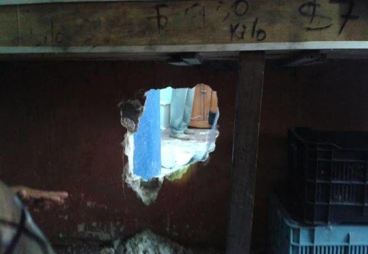 Asaltantes de un comercio en Baca lograron huir con 40 mil pesos después de haber forzado una caja fuerte. (Milenio Novedades/Foto de contexto)