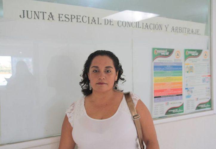 La afectada solicitará formalmente la destitución de la presidenta de la JCA. (Julián Miranda/SIPSE)