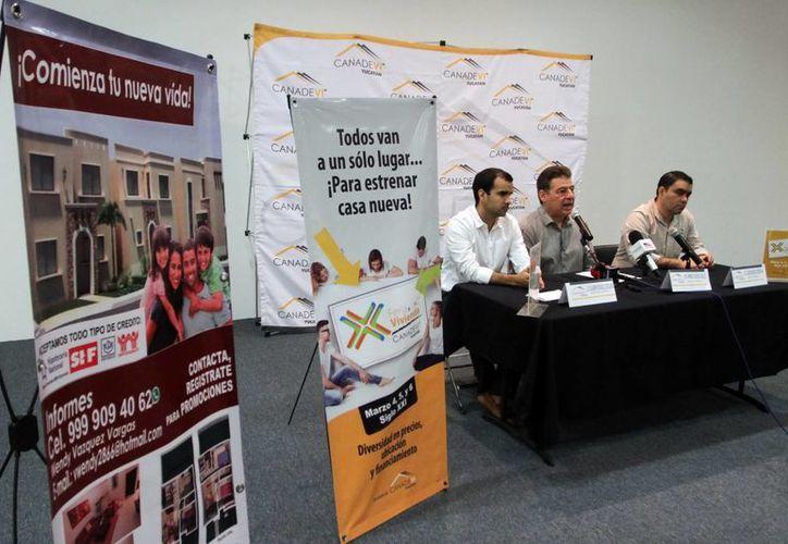 En el marco de la Feria de la Vivienda 2016, se dio a conocer la preferencia de compradores de Mérida hacia los inmuebles verticales. (Amílcar Rodríguez)