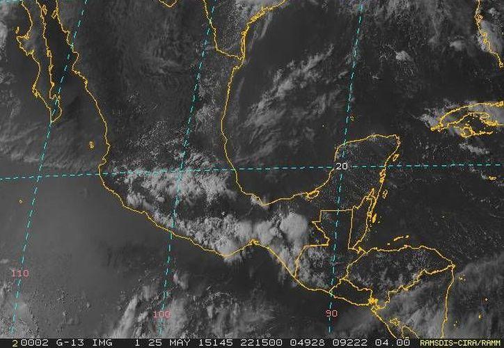 Hasta no se normaliza todavía en Yucatán la temporada de lluvias. (Conagua)