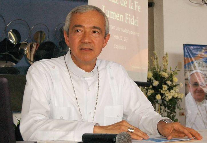 Mons. Patrón Wong asume nueva encomienda en el Vaticano. (SIPSE)