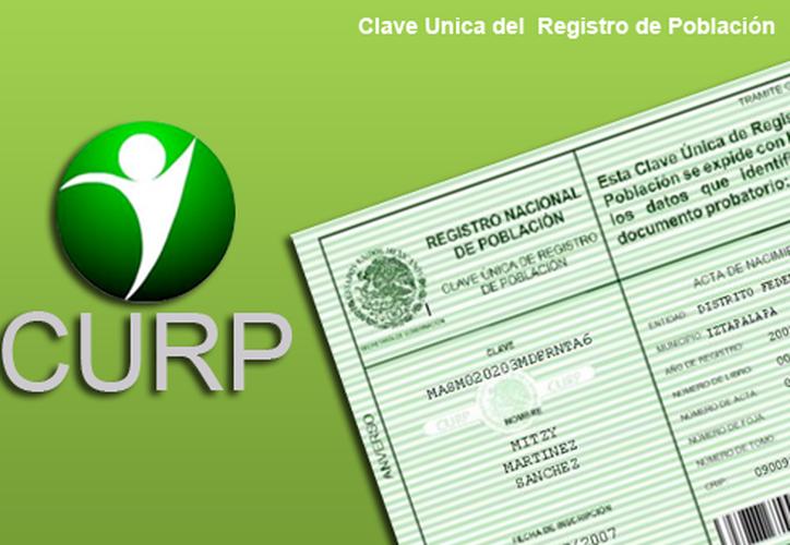 La CURP es un instrumento indispensable ya que permite identificar a cada uno de los usuarios en cualquier base de datos. (Foto: Contexto/Internet).