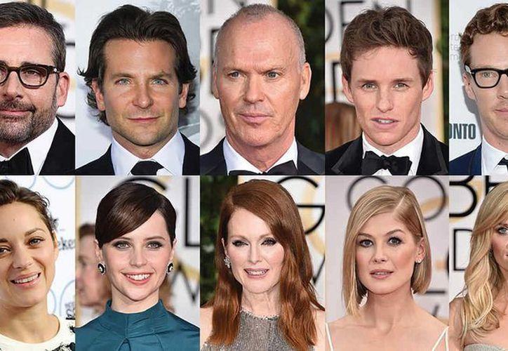 Los 20 actores y actrices nominados a los premios Oscar son blancos, lo que denota la falta de diversidad en esa industria del entretenimiento. (Foto tomada de telemundo.com)