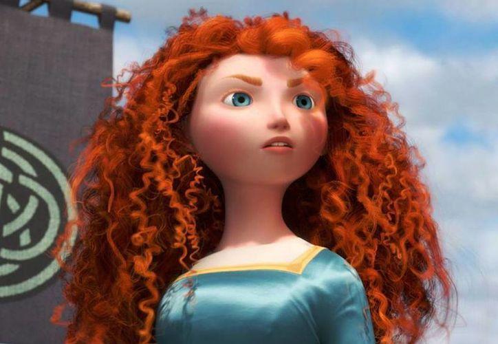 El nombre de Mérida, protagonista de 'Valiente', este año cayó al puesto 71; en 2013 se ubicó en el sitio 47, según Nameberry.com. (Facebook/Brave)