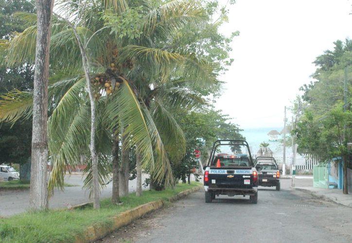 Según la autoridad hacen grandes esfuerzos para llevar la seguridad a comunidades rurales, donde se trabaja en coordinación con la policía Estatal y Rural. (Javier Ortiz/SIPSE)