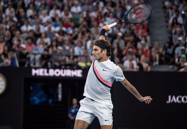 Roger Federer deberá enfrentarse al alemán Jan-Lennard Struff. (Twitter)