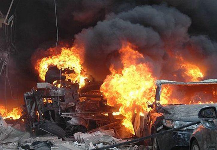 Un atentado explosivo dejó al menos 20 personas muertas en Siria.  (Contexto/Internet).