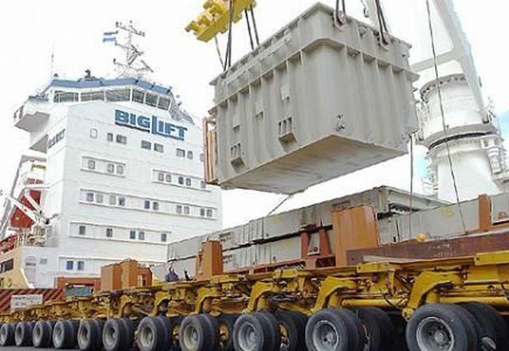 Las exportaciones totales de mercancías se elevaron 2.31 por ciento. (Notimex)