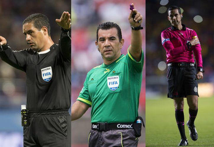 García, Delgadillo y Ramos superaron dicha prueba.  (Foto: Mexsport)