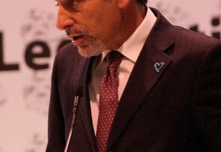 Antonio Mazzitelli representante de la Oficina de las Naciones Unidas contra la droga consideró que un cambio siginificativo en la forma de combatir el crimen al privilegiar la prevención sobre la represión. (Archivo Notimex)