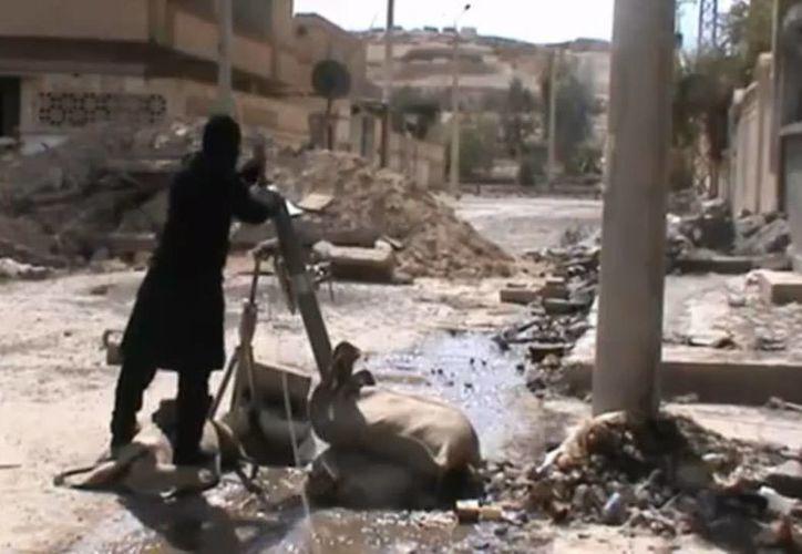Tras dos años de conflicto en Siria, la ONU calcula que al menos 70 mil personas han perdido la vida. (Agencias)