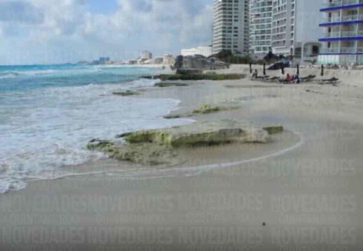 La sobreexplotación de la zona hotelera también impactó drásticamente el medio ambiente y deterioro en la duda costera. (Redacción)
