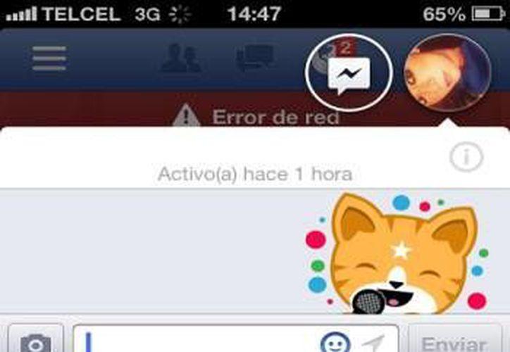 Características de Facebook Home llegan a iOS,  primordialmente con cambios en su servicio de chat . (Milenio)