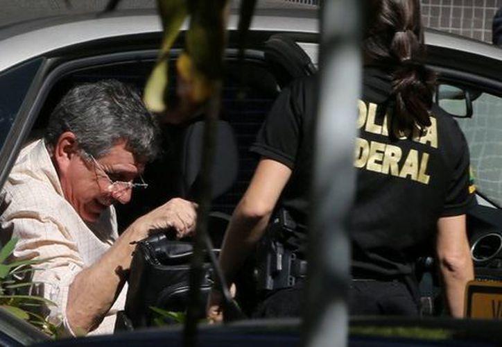 Tadeu Filippelli, jefe de la filial en Brasilia del partido de Temer, el Movimiento Democrático fue detenido. (Reuters).