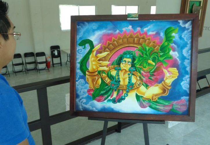 Yhazael Villegas ha desempeñado el papel de Jurado en concursos de pintura infantil y juvenil en distintos eventos. (Ángel Castilla/SIPSE)