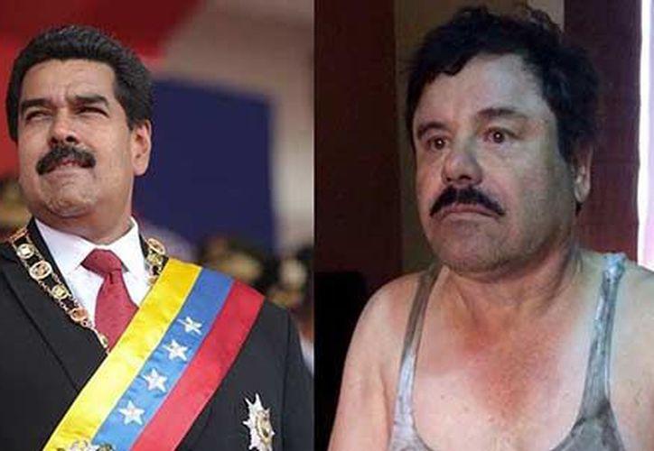 Hijos del 'El Chapo' son vinculados con los hijastros de Nicolás Maduro en Venezuela. (Foto: NotiTotal).