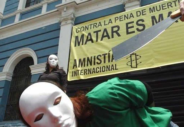 El congreso mundial contra la pena de muerte se realiza desde 2001. (mexico.cnn.com/Contexto)