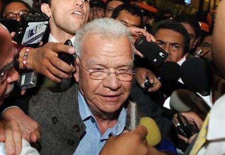 El exgobernador Andrés Granier se dice víctima de persecución política por parte del PRD. (Archivo)