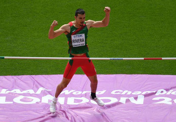 Edgar Rivera superó la primera ronda de pruebas del Mundial de Londres 2017. (AFP).