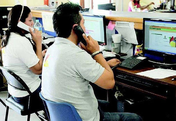 Las denuncias se pueden realizar vía telefónica o a través de internet. (Redacción/SIPSE)