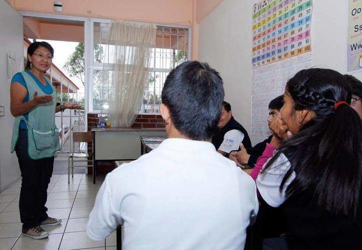 De acuerdo con un estudio del Instituto Mexicano para la Competitividad (Imco), en promedio, un profesor mexicano gana 25 mil pesos de salario mensual. (NTX)