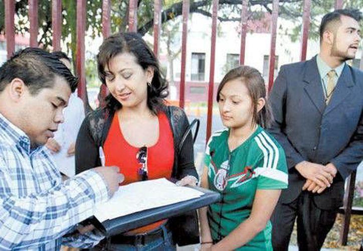 Estudiantes indican que urge la designación de un nuevo director del Instituto Politécnico Nacional. (Milenio)
