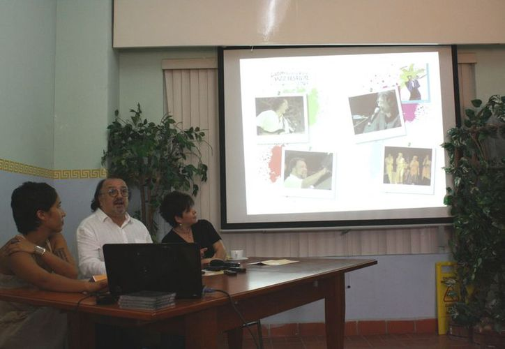 En rueda de prensa se hizo la presentación oficial del evento y de las nueve bandas que participarán.  (Alida Martínez/SIPSE)