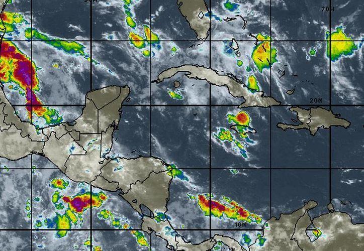 El pronóstico del clima señala probabilidades del 50% en lluvias. (Redacción/SIPSE)