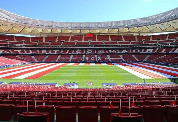 El estadio Wanda Metropolitano del Atlético de Madrid. (Reuters)