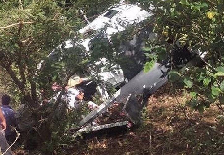 Expresa sus condolencias personal de la PGR. (Foto: Diario de Yucatán)