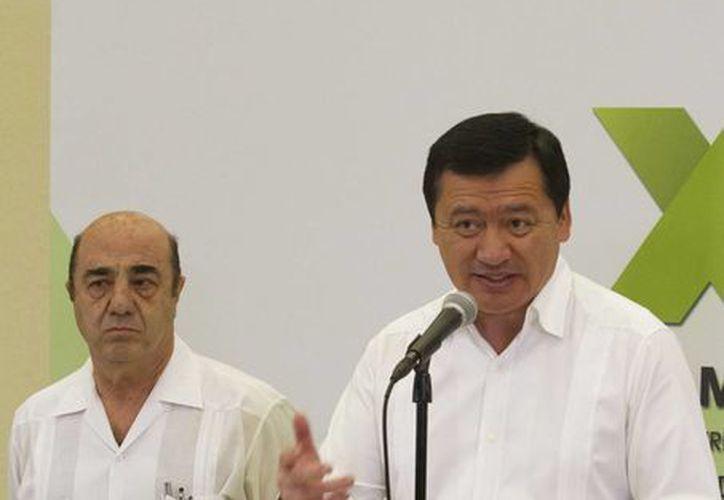 Miguel Ángel Osorio Chong, secretario de Gobernación, acudió al Senado para participar en la comisión bicamaral de seguridad (Notimex/Foto de archivo)