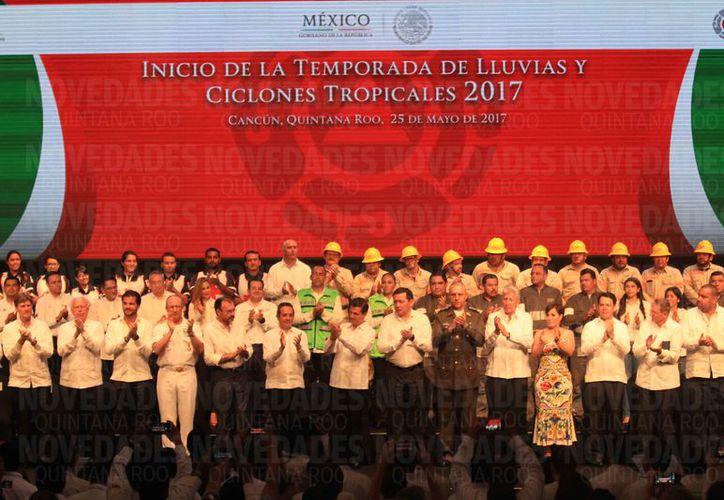 El evento Plataforma Global para la Reducción de Riesgos de Desastres se lleva a cabo en Cancún. (Luis Soto/SIPSE)