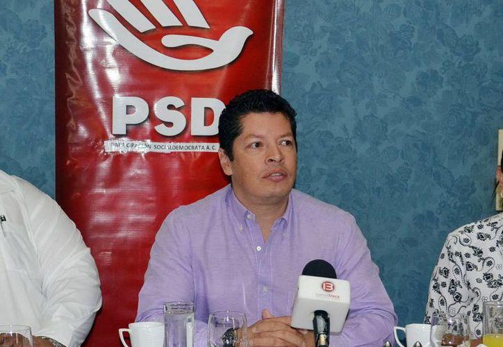 Joaquín Salinas Díaz, fue el dirigente del desaparecido Partido Socialdemócrata (PSD). (Milenio Novedades)