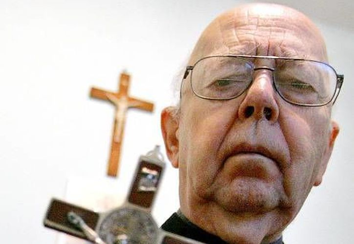El padre Gabriele Amorth fundó la asociación de exorcistas en la década de 1980. (infocatolicos.com)