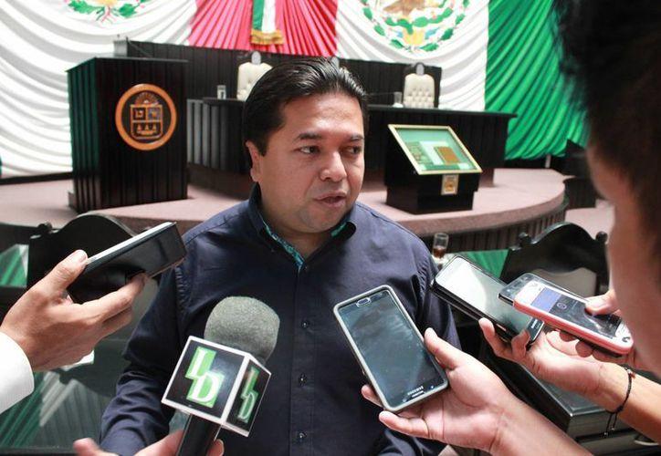 Emiliano Ramos indicó que el objetivo es homologar la votación de los ayuntamientos con la elección 2022. (Foto: Eddy Bonilla)