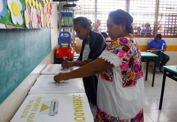 Los partidos emplean la veda electoral para reforzar sus estructuras. (Foto: archivo/SIPSE)
