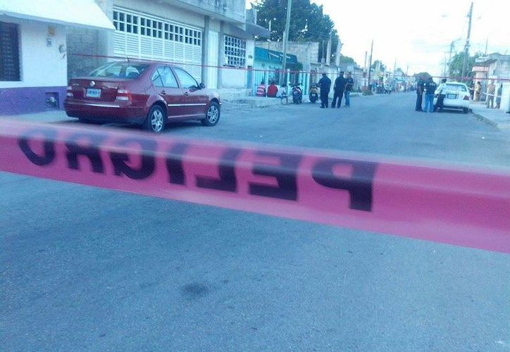 Una vivienda de la colonia Emiliano Zapata recibió varios disparos durante la tarde de ayer. (Redacción/SIPSE)
