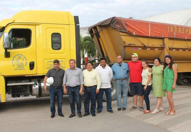 El material se trasladará a una empresa fundidora de Córdova, Veracruz. (Raúl Balam/SIPSE)