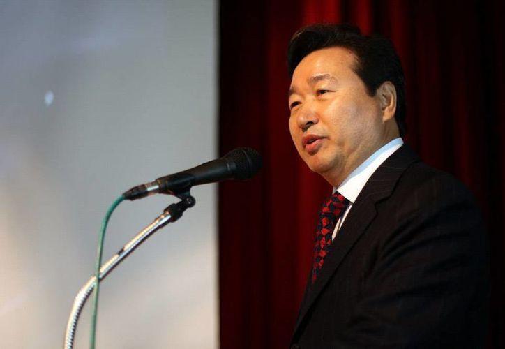 Joon Shik Shin, médico coreano especialista en acupuntura. (SIPSE)