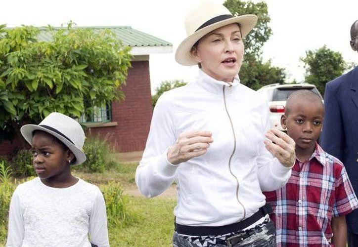 Al parecer Madonna no ha construido escuelas locales, sino que ha remodelado partes. (Agencias)