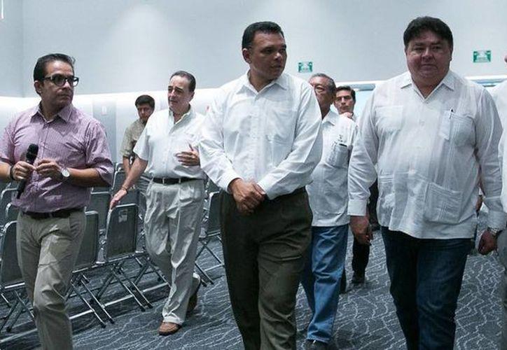 El gobernador Rolando Zapata estará este miércoles en el Centro de Convenciones Yucatán Siglo XXI por la inauguración de  la 64ª asamblea ordinaria de la Federación Latinoamericana de Magistrados. (SIPSE)
