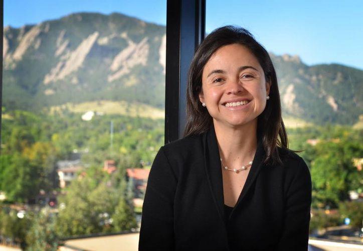 Ana María Rey declaró que su pasión por la Física comenzó en el colegio gracias a la influencia de un profesor. (EFE)