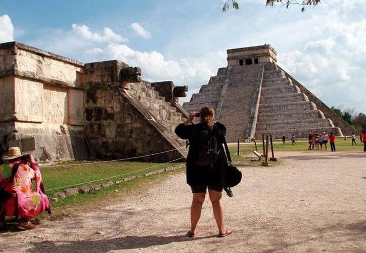 Chichén Itzá es un gran atractivo para los viajeros que llegan a Yucatán. (Milenio Novedades)